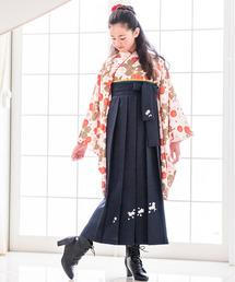 着物 簡単着付けの刺繍入り袴セット|ZOZOTOWN PayPayモール店
