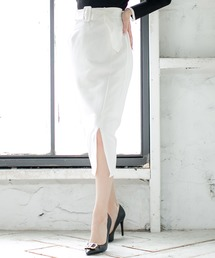 スカート ベルト付きスリットタイトスカート/20514|ZOZOTOWN PayPayモール店