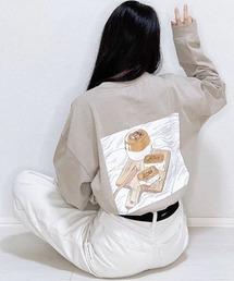 tシャツ Tシャツ ファッションインフルエンサー 017 - ティータイムロンT made in INTER FACTORY ZOZOTOWN PayPayモール店