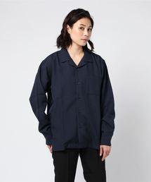 シャツ ブラウス DETAILS/長袖オープンカラーシャツ|ZOZOTOWN PayPayモール店