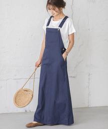 サロペット オーバーオール マキシ丈ジャンパースカート|ZOZOTOWN PayPayモール店