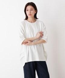 tシャツ Tシャツ SUPIMAコットンサイドタックプルオーバー|ZOZOTOWN PayPayモール店