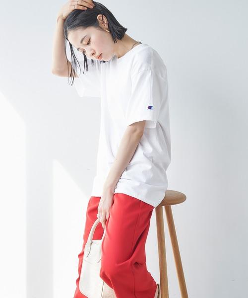 tシャツ Tシャツ ショッピング Champion Authentic T-SHIRTS ロゴTシャ 半袖 レディース 新作入荷!! チャンピオンスーパーオーバーサイズコットン