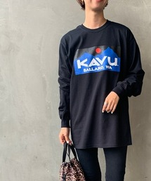 tシャツ Tシャツ [KAVU/カブー] バラードロゴロングスリーブTシャツ|ZOZOTOWN PayPayモール店