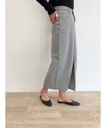 スカート デニム Slit denim skirt / スリットデニムスカート|ZOZOTOWN PayPayモール店