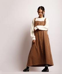 サロペット オーバーオール 【UAS8 original】16ウェルコーデュロイジャンパースカート womens ZOZOTOWN PayPayモール店