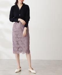 スカート 【追加生産】ケミカルレースタイトスカート|ZOZOTOWN PayPayモール店