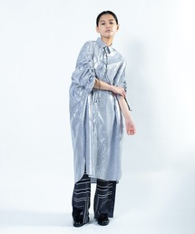 ワンピース SLEEVE GATHER SHIRT DRESS/ スリーブギャザーシャツドレス|ZOZOTOWN PayPayモール店