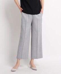 パンツ スーツ 【洗える】メルティストレッチ ワイドパンツ|ZOZOTOWN PayPayモール店