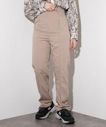 パンツ 【kutir closet】【セットアップ可】ハイウエストピンタックパンツ|ZOZOTOWN PayPayモール店