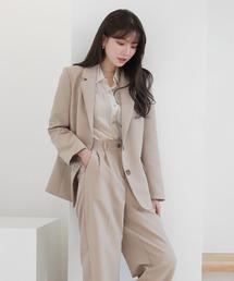 (ムニールBEST)春の新商品カラーセットアップジャケット+パンツセット|ZOZOTOWN PayPayモール店