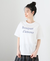 tシャツ Tシャツ 《追加》Bouquet damour TEE【洗濯機弱】|ZOZOTOWN PayPayモール店