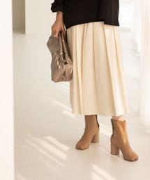 スカート VOLUMY PLEATS SKIRT|ZOZOTOWN PayPayモール店