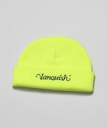 帽子 キャップ Vanquish Logo Embroidery ニットワッチ|ZOZOTOWN PayPayモール店
