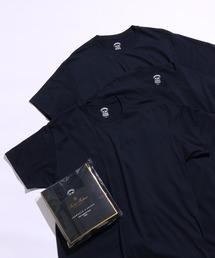 tシャツ Tシャツ 【Brooks Brothers】別注 スーピマコットン 3パック  Tシャツ ZOZOTOWN PayPayモール店