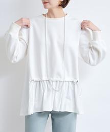 tシャツ Tシャツ 【WEB限定】ドロストコードドッキングプルオーバー|ZOZOTOWN PayPayモール店