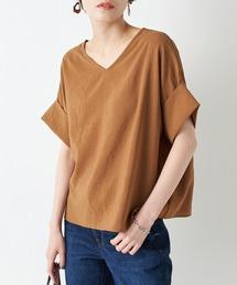 シャツ ブラウス 清涼感のあるさらっとした肌触り ニュアンススリーブブラウス|ZOZOTOWN PayPayモール店