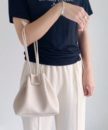 ショルダーバッグ バッグ 柔らかPU素材 2WAY 巾着 ミニショルダー|ZOZOTOWN PayPayモール店
