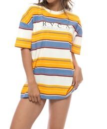 tシャツ Tシャツ RVCA レディース  CONSTRUCTED SS Tシャツ【2021年夏モデル】/ルーカ半袖Tシャツ|ZOZOTOWN PayPayモール店