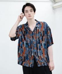 シャツ ブラウス レトロ/アニマル柄 オープンカラーシャツ|ZOZOTOWN PayPayモール店