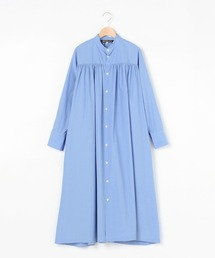 ワンピース シャツワンピース 【HAVERSACK】ギャザーシャツドレス WOMEN|ZOZOTOWN PayPayモール店