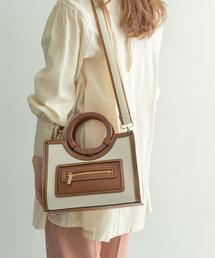 トートバッグ バッグ ALBINA キャンバスコンビトートバッグ|ZOZOTOWN PayPayモール店