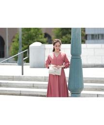 ドレス ボリュームスリーブプリーツミモレ丈のワンピースドレス|ZOZOTOWN PayPayモール店