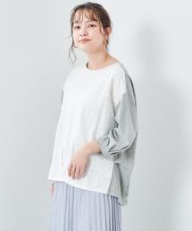 tシャツ Tシャツ ストライプシシュウレースタックTee ZOZOTOWN PayPayモール店