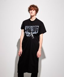ワンピース SELLOTAPE T-SHIRT DRESS WITH PRINT|ZOZOTOWN PayPayモール店