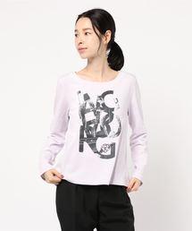 tシャツ Tシャツ INGEBORGモノクログラッフィクロゴカットソー ZOZOTOWN PayPayモール店