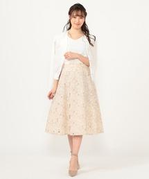 スカート カットワークフレアースカート|ZOZOTOWN PayPayモール店