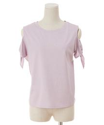 tシャツ Tシャツ ソデリボンロゴシシュウTシャツ|ZOZOTOWN PayPayモール店