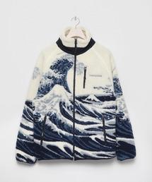 アウター Ukiyo-e wave Boa fleece Jacket|ZOZOTOWN PayPayモール店