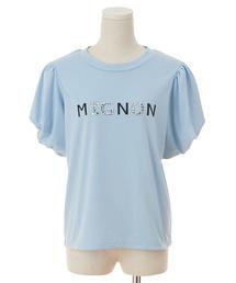 tシャツ Tシャツ ビジューロゴパワショルTシャツ|ZOZOTOWN PayPayモール店