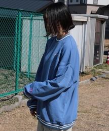 スウェット ファッションインフルエンサー shizuku - SENTAKUBIYORI プルオーバー made in INTER FACTORY ZOZOTOWN PayPayモール店