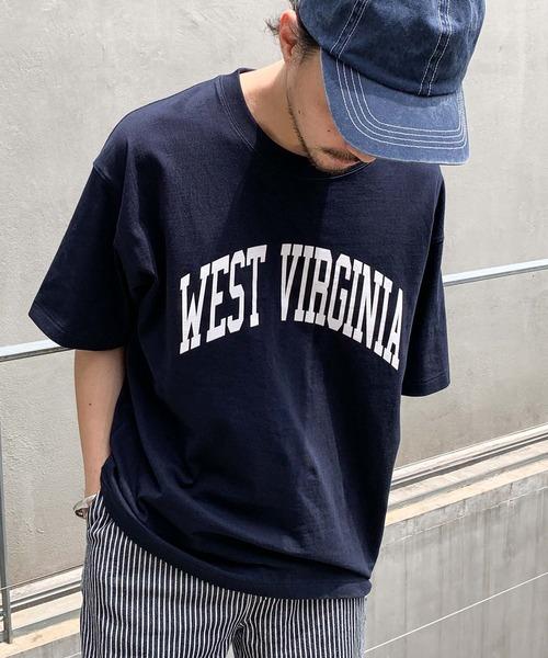 tシャツ 本日の目玉 Tシャツ ZOZOTOWN限定 WESTVIRGINIAカレッジロゴユニセックスTee 新登場
