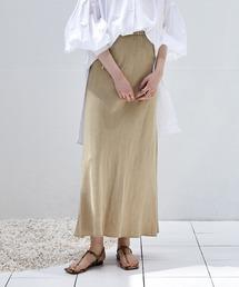 スカート 麻混ソフトマーメイドスカート|ZOZOTOWN PayPayモール店