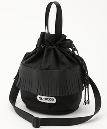 ショルダーバッグ バッグ OUTDOOR PRODUCTS/アウトドアプロダクツ 別注フリンジ巾着バッグ|ZOZOTOWN PayPayモール店
