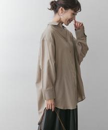 シャツ ブラウス F by ROSSO オーバーシャツ|ZOZOTOWN PayPayモール店