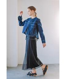 スカート シアーレイヤードスカート|ZOZOTOWN PayPayモール店