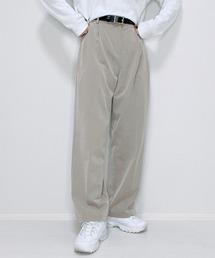 パンツ ファッションインフルエンサー 017 - センタープレスストレートパンツ【セットアップ可能】made in INTER FACTORY ZOZOTOWN PayPayモール店