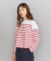 tシャツ Tシャツ 【別注】<Le minor>パネルボーダーロングスリーブカットソー|ZOZOTOWN PayPayモール店