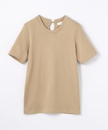 tシャツ Tシャツ コットンジャージー バックリボンクルーネックプルオーバー|ZOZOTOWN PayPayモール店