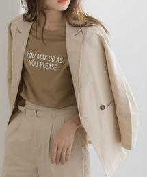 tシャツ Tシャツ 上品見えな大人のロゴTシャツ ZOZOTOWN PayPayモール店