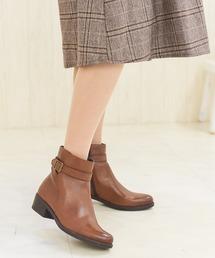 ブーツ ベルト付ショートブーツ/4426大きいサイズ|ZOZOTOWN PayPayモール店