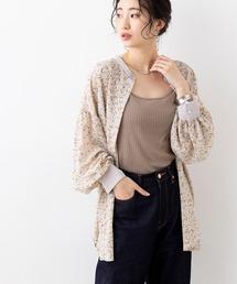 シャツ ブラウス 小花柄 スタンドカラー ボリュームスリーブシャツ ブラウス|ZOZOTOWN PayPayモール店