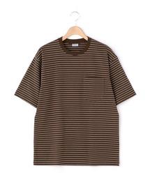 tシャツ Tシャツ 【ORCIVAL】ポケットTシャツ STRIPE MEN|ZOZOTOWN PayPayモール店