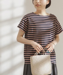 tシャツ Tシャツ FORK&SPOON ボートネックボーダーショートスリーブTシャツ|ZOZOTOWN PayPayモール店