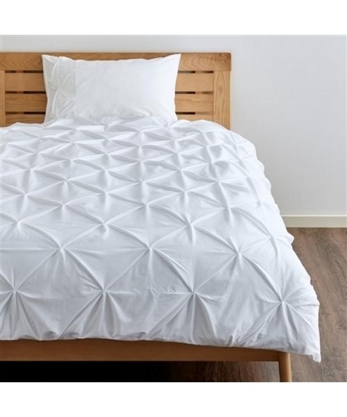 ベッド 寝具 超激安特価 商い ダブル パロン 掛け布団カバー W1900xD2100mm ホワイト