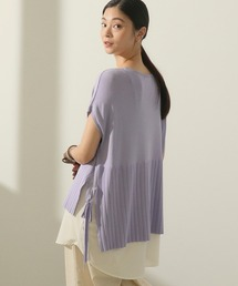 tシャツ Tシャツ サイドリボンニットベストレイヤートップス|ZOZOTOWN PayPayモール店